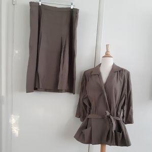 Vintage 40s Handmade Suit Set